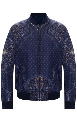 Patterned bomber jacket od Etro