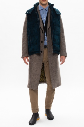 Quilted down vest od Etro