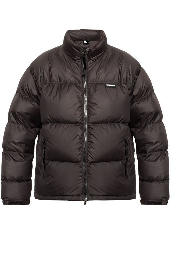 VETEMENTS Down jacket with logo
