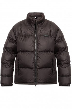 Down jacket with logo od VETEMENTS