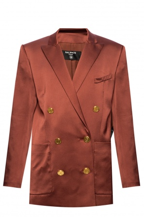 Blazer with notch lapels od Balmain