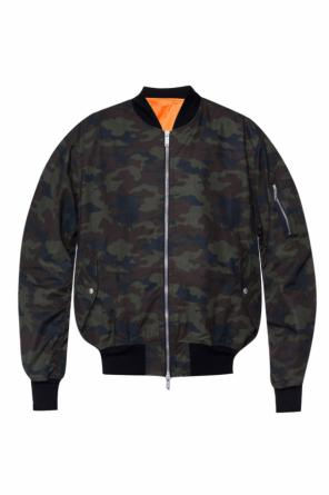 Camo bomber jacket od Unravel Project
