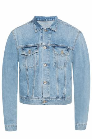 Denim jacket with prints od Unravel Project