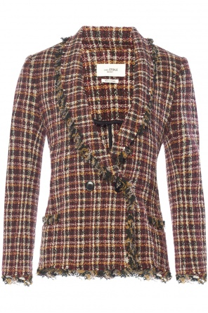 Checked double-breasted blazer od Isabel Marant Etoile