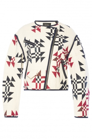 Patterned quilted jacket od Isabel Marant