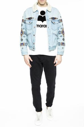 Embroidered denim jacket od Isabel Marant