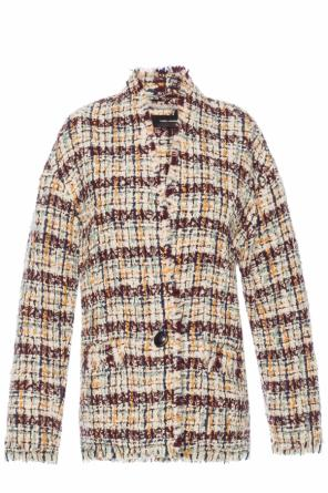 Jacket with a raw finish od Isabel Marant