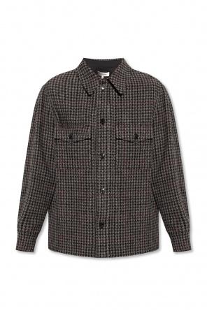 Koszula ze wzorem w pepitkę od Isabel Marant