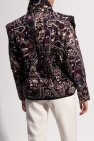 Isabel Marant Patterned jacket w/ detachable sleeves