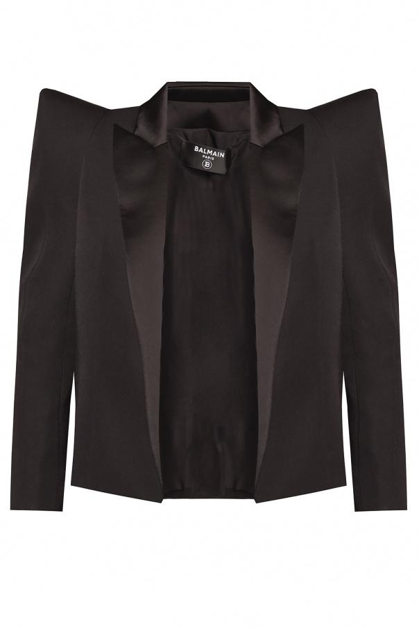 Balmain Peak lapel blazer