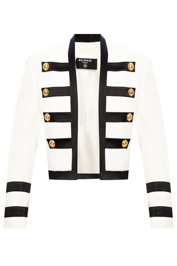 Balmain Appliquéd blazer