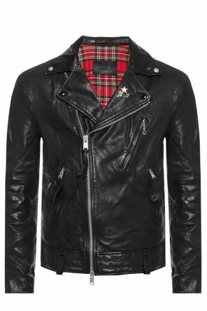 'vice' leather jacket od AllSaints