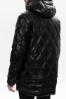 Diesel Quilted jacket with removable hem