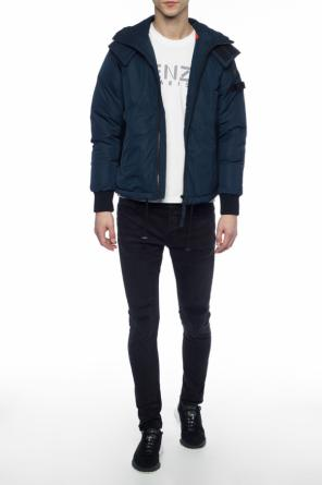 Quilted jacket with collar od Diesel