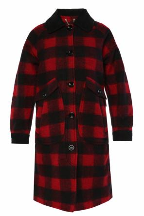 Checked coat od Diesel