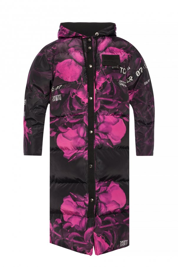 Quilted down coat od Diesel