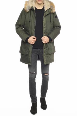 Parka with elastic trims od Diesel