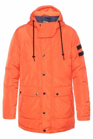 Hooded down jacket od Diesel