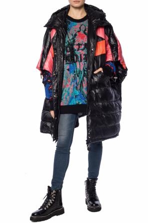 Quilted cape with hood od Diesel