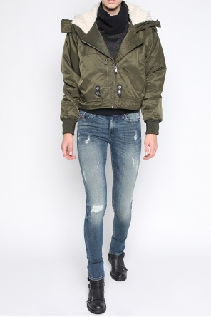 Cropped oversized jacket od Diesel