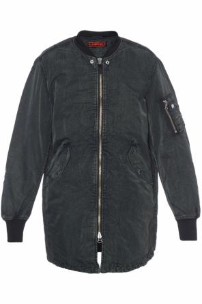 Long bomber jacket od Diesel