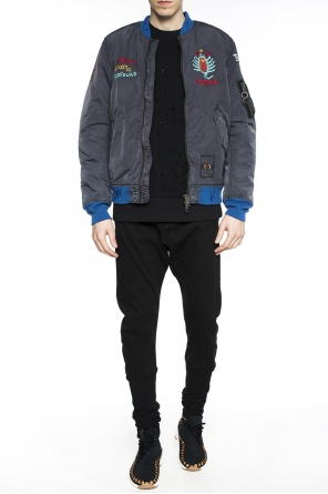 Embroidered bomber jacket od Diesel