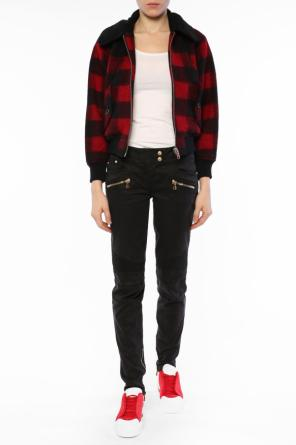 Cropped checked jacket od Diesel