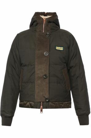 Patched jacket od Diesel