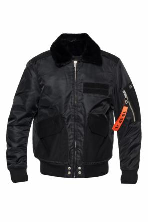 Jacket with a logo od Diesel