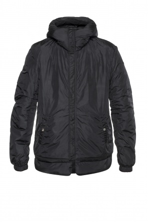 Oversize' insulated jacket od Diesel