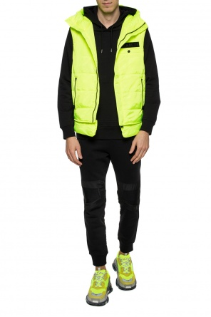 Hooded quilted vest od Diesel