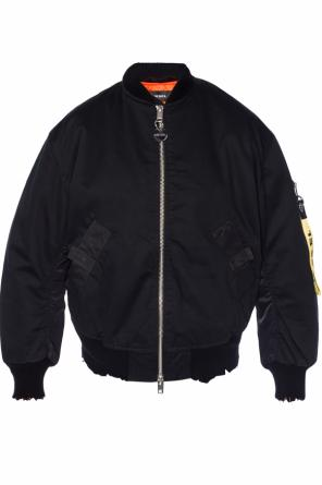 Bomber jacket with logo od Diesel
