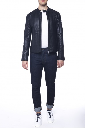 Collar band jacket od Emporio Armani