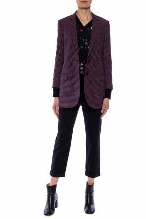 Patterned blazer with a vent od Paul Smith