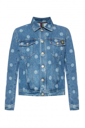 Polka dot denim jacket od Paul Smith
