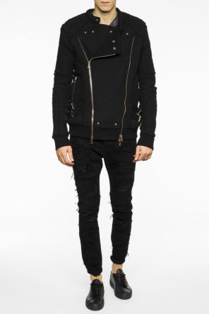 Band collar jacket od Balmain