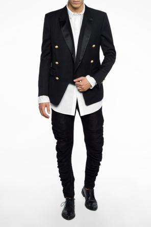 Double-breasted blazer od Balmain