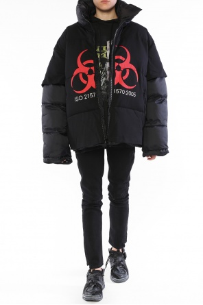 Oversize down jacket od Vetements