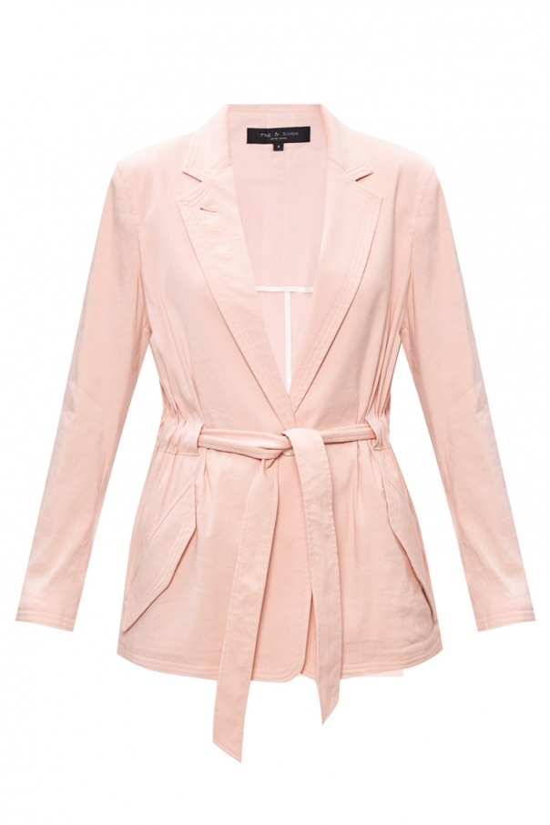 Rag & Bone  Tie-up blazer