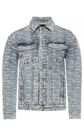 Branded denim jacket od Philipp Plein