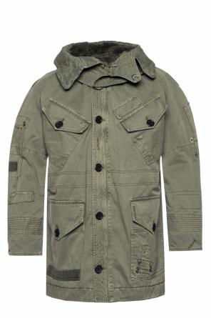 Detachable hood parka od Zadig & Voltaire