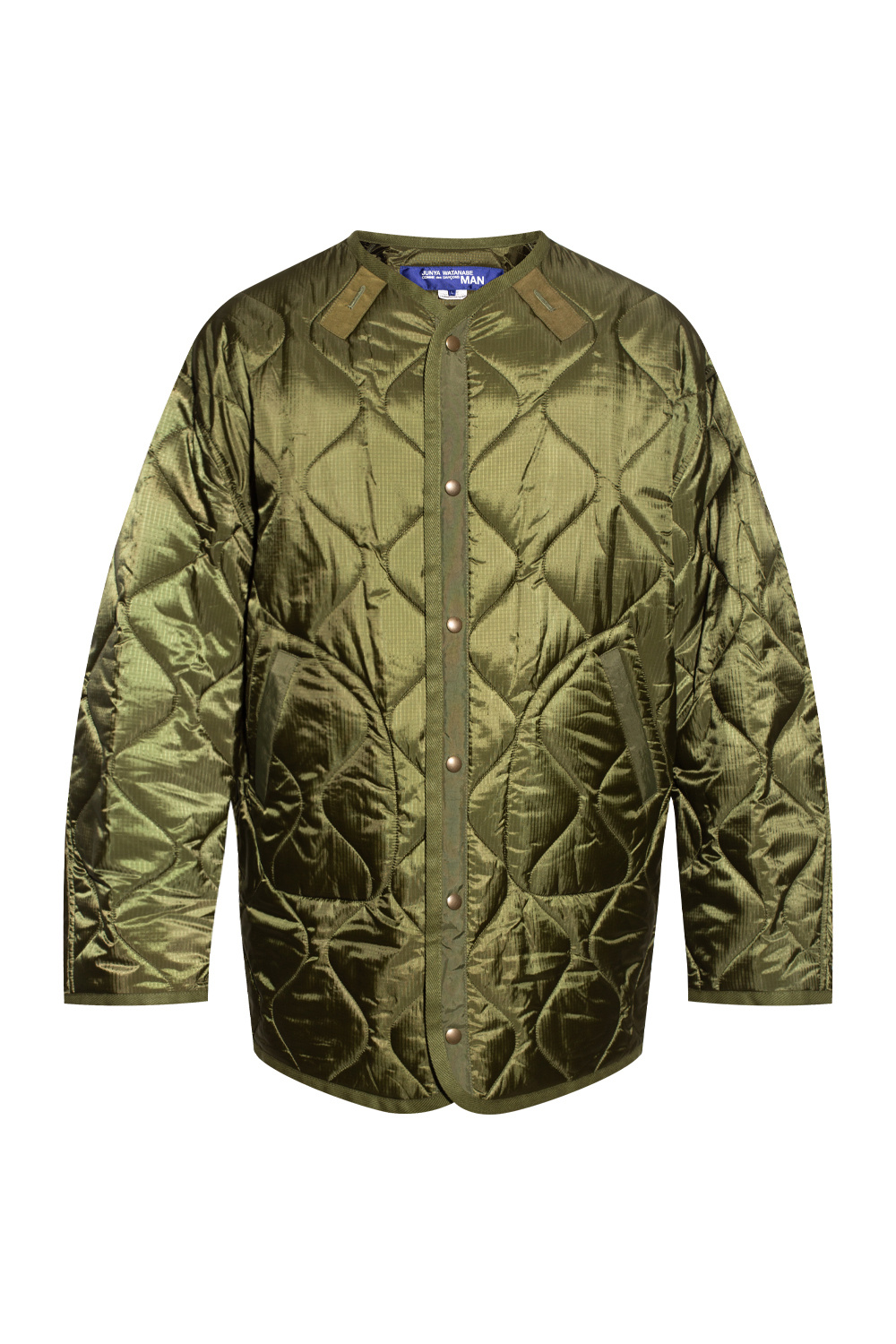 Junya Watanabe Comme des Garcons Printed quilted jacket