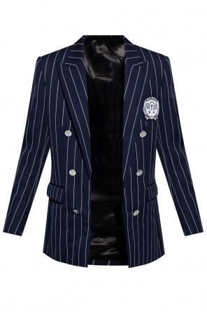 Striped blazer od Balmain