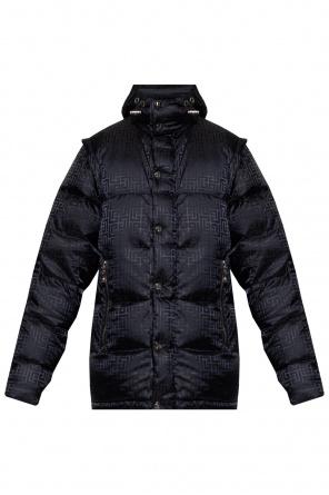 Down jacket with hood od Balmain