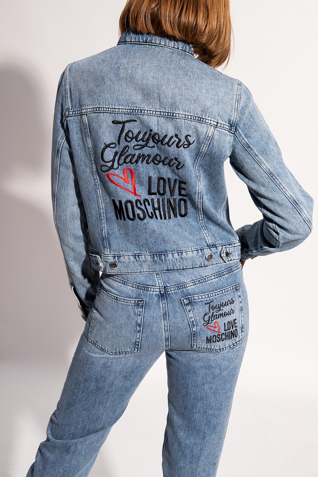 Love Moschino 牛仔夹克