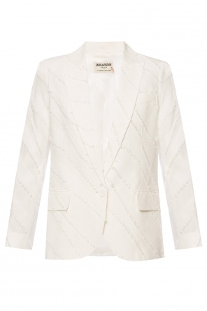Decoratively-trimmed blazer od Zadig & Voltaire