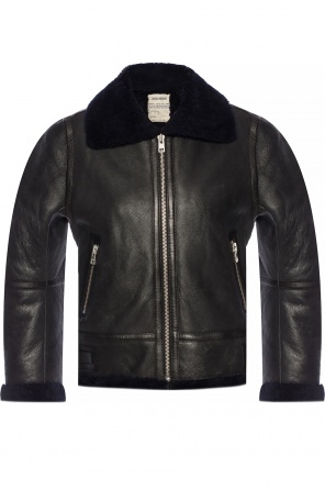 Leather jacket od Zadig & Voltaire