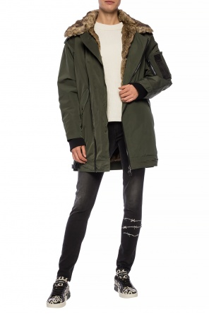 Fur trim jacket od Zadig & Voltaire