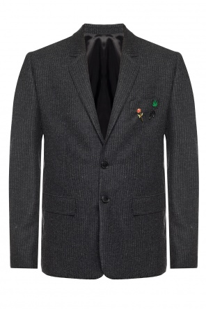Blazer with decorative brooches od Zadig & Voltaire