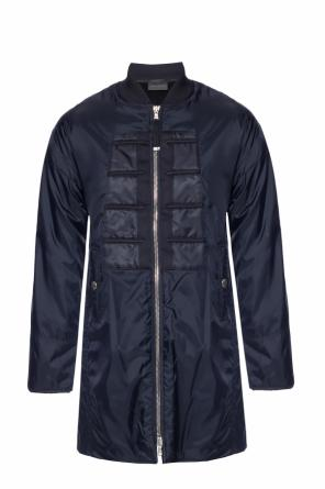 Padded jacket with slits od Diesel Black Gold
